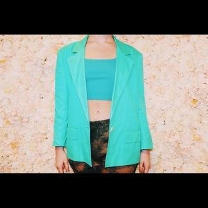 Christian Dior Green Blazer